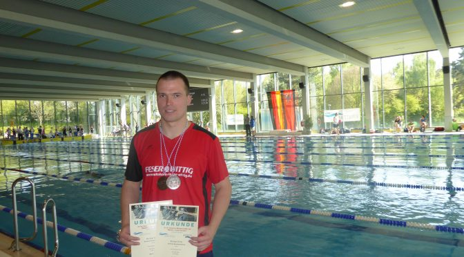 """Michael Ritter erkämpft 2 Mal Bronze bei den 33. Internationalen Deutschen   Meisterschaften der Masters """"Lange Strecken"""" in Wetzlar"""