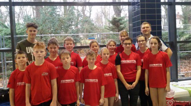 8  Erfolge für die Nienburger Schwimmer beim 41. Weihnachtspokal  des SV Serum Bernburg