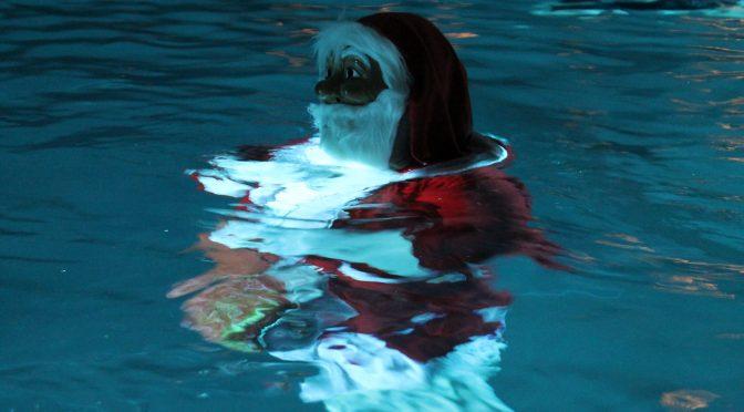 Kinderweihnachtsfeier in der Schwimmhalle Bernburg 12.12.17