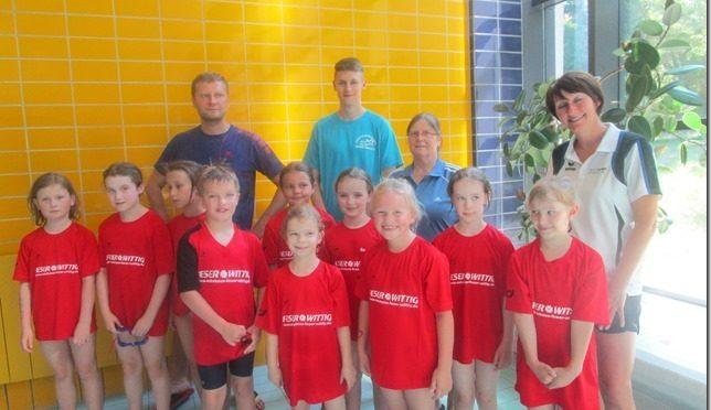 Einladungswettkampf für die kleinsten in Bernburg