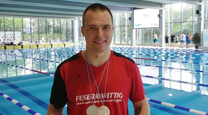 """2 Vizemeistertitel für Michael Ritter bei den 34. Internationalen Deutschen   Meisterschaften der Masters """"Lange Strecken"""" Wetzlar"""