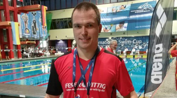 2 Medaillen für Michael Ritter beim International Swim – Cup der SG Schöneberg in Berlin