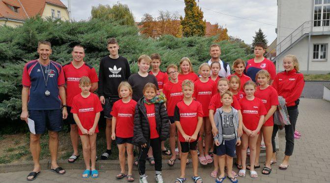 5 Erfolge und 1 Pokalsieg beim Herbstschwimmfest   des SV Eisleben – Sangerhausen am 20.10.2018