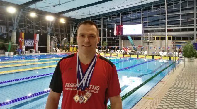 2x Gold für Michael Ritter bei den Norddeutschen Meisterschaften in Braunschweig