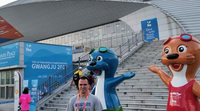 18. FINA World Masters Championships der Schwimmer in Südkorea – 2 Top-Ten-Platzierungen für Michael Ritter