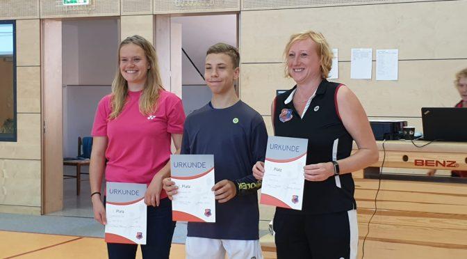 Silber und Bronze für unsere Badmintonaktiven bei der Landesrangliste Sachsen-Anhalt O19 A/B am 22.09.2019