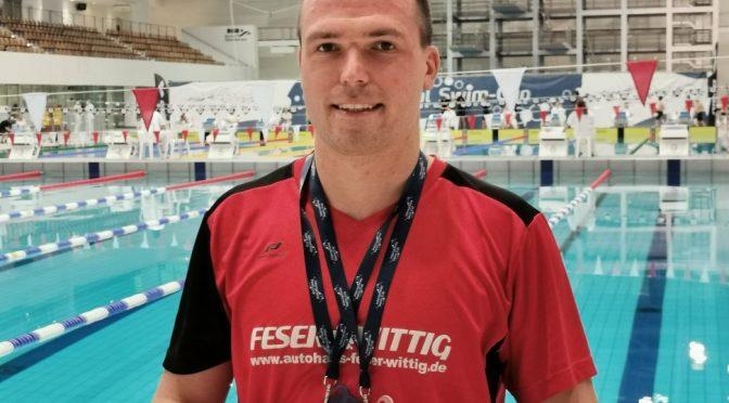 Sensationeller 3. Platz für Michael Ritter beim Sieg des amtierenden Deutschen Meisters über 50m Brust  beim International Swim – Cup in Berlin
